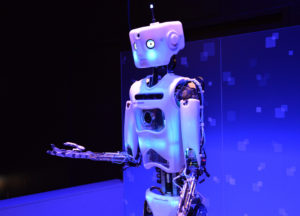 Robot at Portland Science Museum